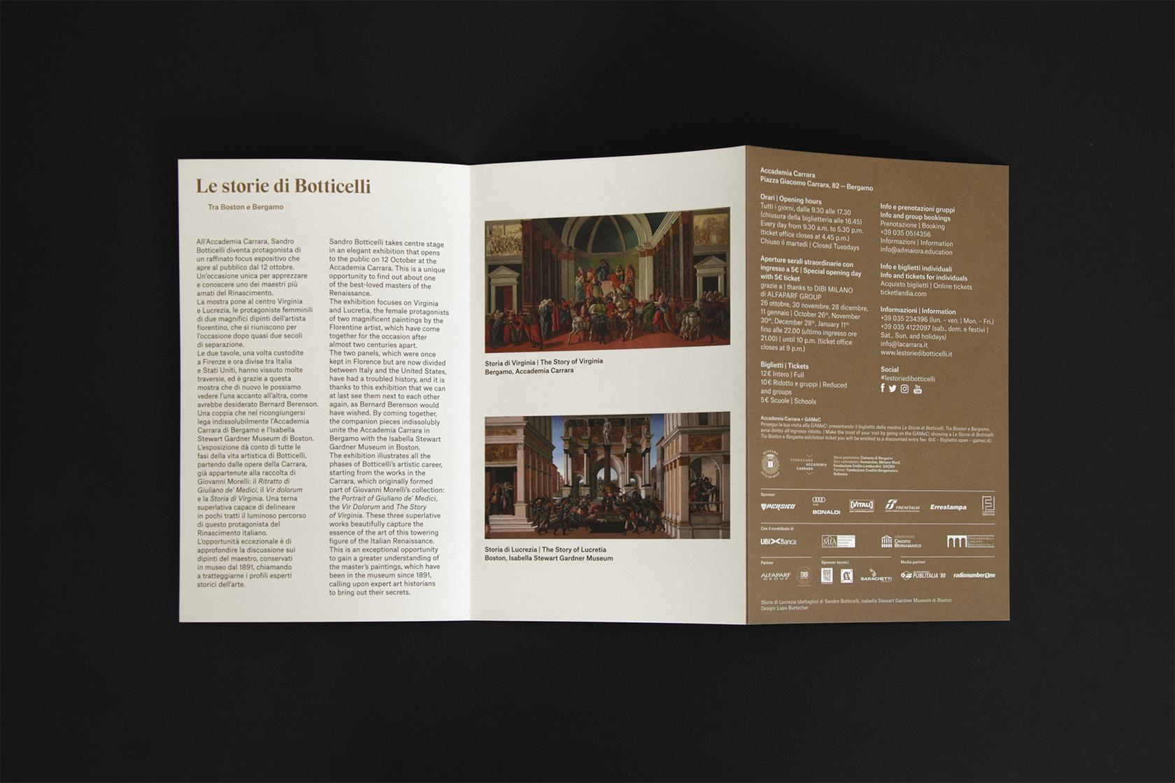 Le storie di Botticelli - Lupo Burtscher